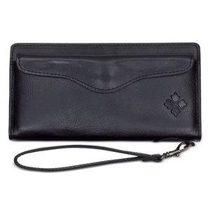 [Patricia Nash] Valentía Leather Wristlet Wallet